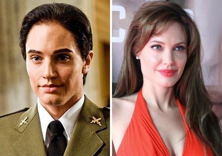 """Hồi đóng bộ phim """"Salt"""" (2010), Angelina Jolie đã khiến khán giả hết sức thích thú khi bất ngờ biến hóa thành một người đàn ông"""