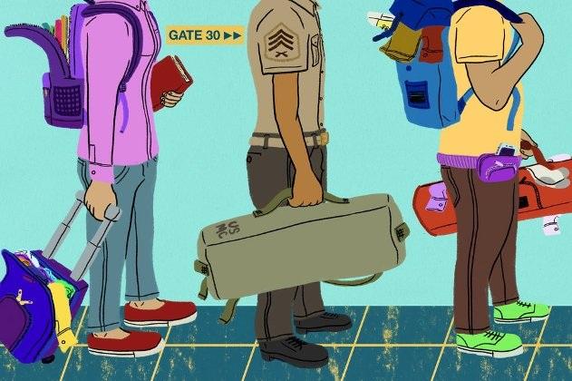 Nguyên tắc đóng gói ba lô trong quân đội giúp bạn du lịch dễ dàng hơn - 1