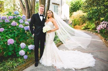 Kevin De Bruyne đã chính thức thành trai có vợ