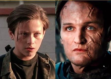 """Edward Furlong và Jason Clarke đã lần lượt thủ vai nhân vật John Connor trong """"The Terminator"""" lúc niên thiếu và khi trưởng thành"""