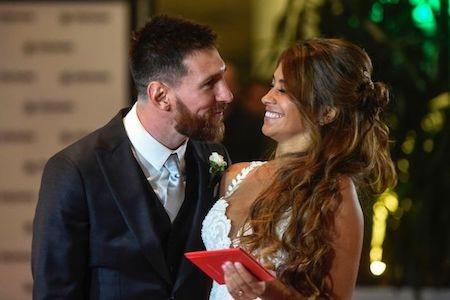 Messi vừa làm đám cưới với Antonella