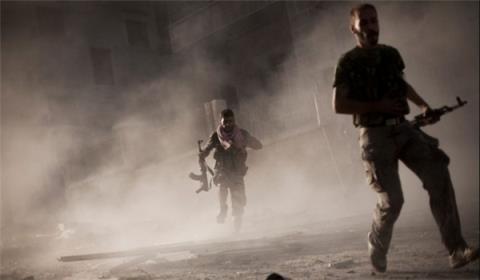Quân đội Syria đánh mạnh khu vực Damascus, tiêu diệt 100 phiến quân khủng bố