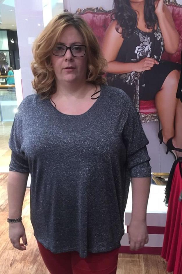 Natalie từng sở hữu cân nặng quá khổ và mặc quần áo size 22