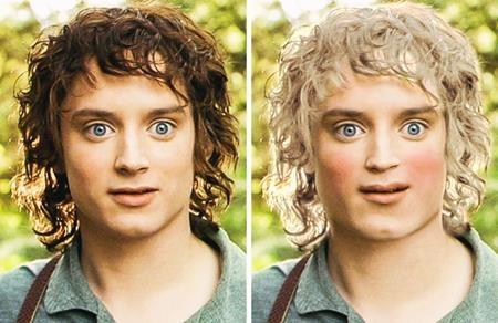 """Ít ai biết rằng nhân vật Frodo Baggins trong bộ sách """"The Lord of the Rings"""" được miêu tả là một người lùn hốc hác với mái tóc vàng, khuôn cằm chẻ và cặp mắt trong veo"""