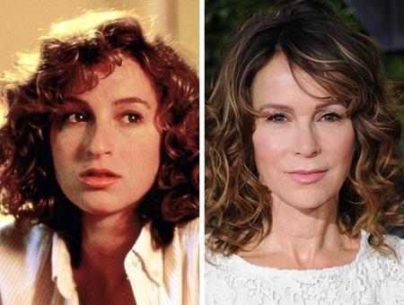 """Sau thành công rực rỡ của bộ phim """"Dirty dancing"""", Jennifer Grey đã có một bệ phóng hoàn hảo để phát triển sự nghiệp tại Hollywood. Tuy vậy, Grey chỉ đóng vai trò nhỏ trong các tác phẩm tiếp theo như """"Friends"""" hay """"House M.D"""" và đến khi nữ diễn viên này quyết định đi làm mũi thì các khán giả đã chẳng còn nhận ra nổi nữa."""