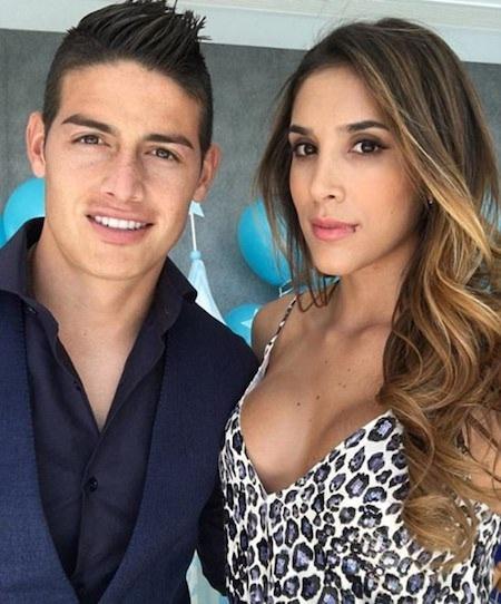 James Rodriguez vừa tuyên bố li dị vợ