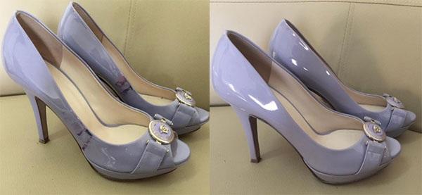 Những vết bẩn trên giày được xóa bỏ một cách thần kỳ