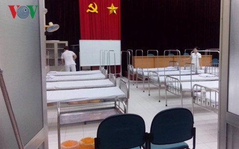 Khu điều trị ban ngày kê được 20 giường- Ảnh: Minh Điển