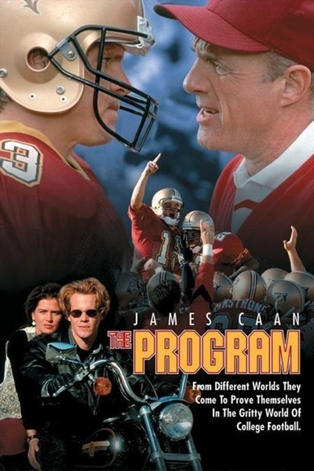 """""""The program"""" (1993) có thể là một bộ phim truyền cảm hứng tuyệt vời về tình bạn với sự tham gia của các ngôi sao trẻ ngày ấy như Halle Berry, Omar Epps, James Caan hay Kristy Swanson. Tuy nhiên, trong tác phẩm này có một cảnh quay gây tranh cãi đó là khi nhân vật Joe Kane uống say và nằm ra giữa đường lớn đọc báo để chứng minh mình rất có bản lĩnh trong việc """"chịu đựng sức ép"""". Điều đáng nói là trong cảnh phim này, bạn bè của Joe không những không ngăn cản mà còn cùng tham gia và xếp thành một hàng dài ngay giữa làn đường xe cộ tấp nập."""