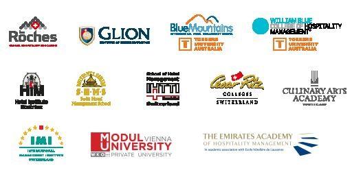 Các trường nổi tiếng giảng dạy về ngành Quản trị khách sạn đều có mặt tại triển lãm