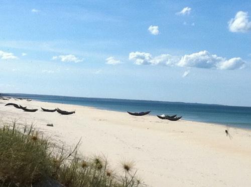 Bãi biển Gia Đẳng xanh trong lộng gió, nằm ở xã Triệu Lăng, huyện Triệu Phong tỉnh Quảng Trị