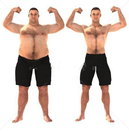 Phụ nữ thường quan tâm tới những người đàn ông có vùng bụng thon gọn. Ảnh minh họa