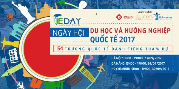 Tham dự Ngày hội Du học và Hướng nghiệp quốc tế lớn nhất 2017 - 1