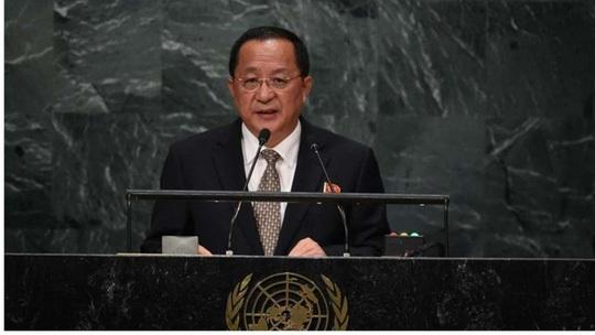 Ông Ri Yong Ho. Ảnh: Reuters