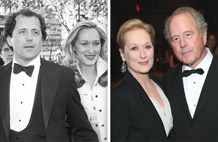 """Ngoài một sự nghiệp tuyệt vời, huyền thoại điện ảnh Meryl Streep còn có một tình yêu bình dị nhưng bền chặt với nhà điêu khắc Don Gummer. Tính đến nay, đôi tình nhân già của Hollywood đã có tới 39 năm gắn bó không rời và Meryl Streep từng hạnh phúc tâm sự rằng: """"Tôi không biết mình sẽ làm được gì nếu thiếu chồng tôi nữa. Tôi có khi sẽ chết mất, ít nhất là về mặt cảm xúc, nếu tôi không gặp được ông ấy. Ông ấy là tuyệt vời nhất""""."""