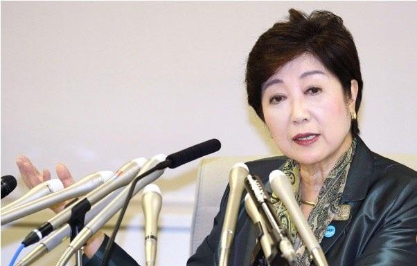 Nữ thị trưởng Tokyo Yuriko Koibe sẽ là đối thủ đáng gờm của ông Abe trong cuộc bầu cử sắp tới. Ảnh: Kyodo.