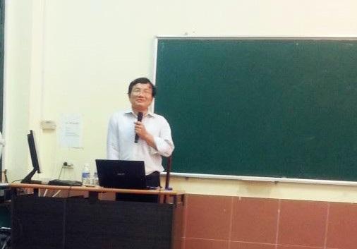 PGS.TS Trần Trung Ninh - Tổ trưởng Tổ Phương pháp, Khoa Hóa trường ĐH Sư phạm Hà Nội. (Ảnh: ntthnue.edu)