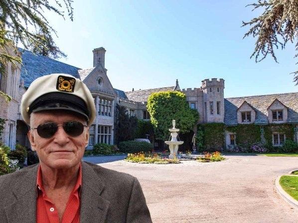 Bên trong lâu đài giá 100 triệu đôla của ông chủ Playboy - 1