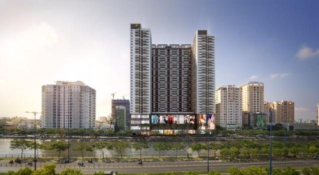 TNR The GoldView đang trong giai đoạn hoàn thiện và bàn giao căn hộ cho khách hàng
