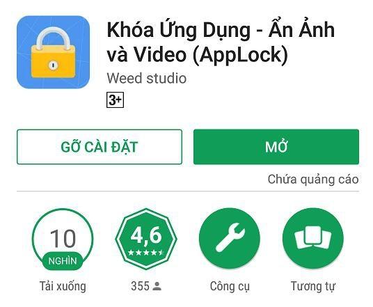 """Một ứng dụng """"móc túi"""" 10.000 người dùng trên Google Play"""