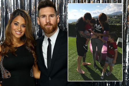 Vợ chồng Messi sắp có thêm một cậu con trai
