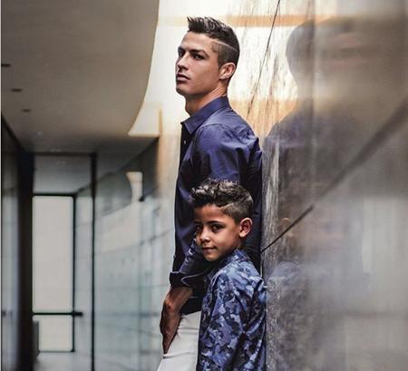 C.Ronaldo vừa bật mí nhiều điều lý thú về con trai