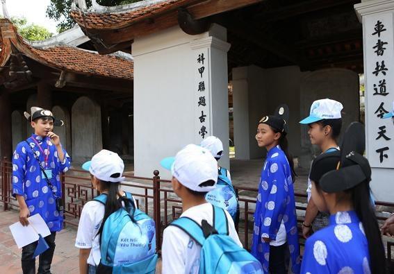 Ngày hội diễn ra tại Hà Nội mang đến cho các em nhỏ những trải nghiệm ý nghĩa.