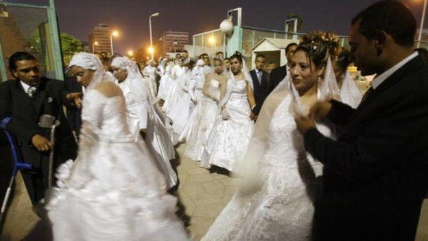 Một đám cưới ở Ai Cập