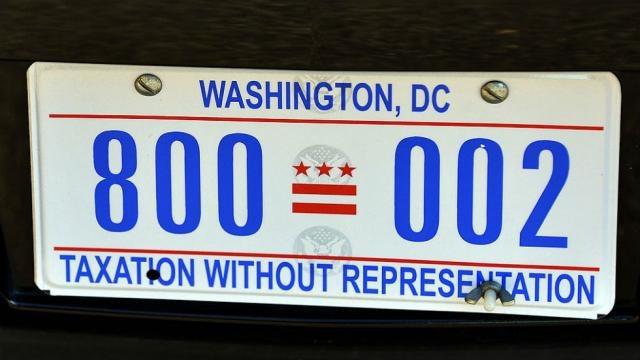 Biển số xe Quái thú của Tổng thống Mỹ. (Ảnh: Politico)