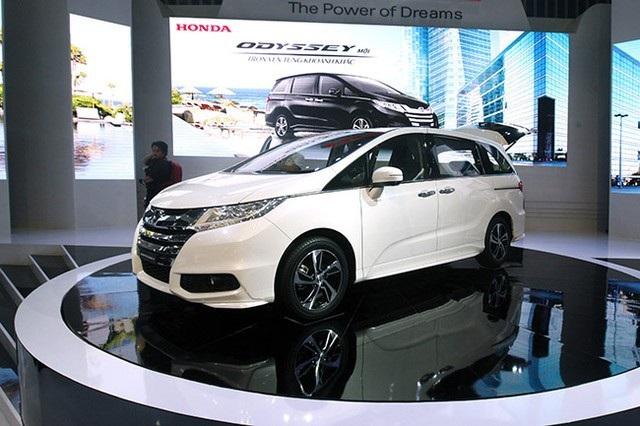 Honda Odyssey giảm 100 triệu đồng trong tháng 11 này.