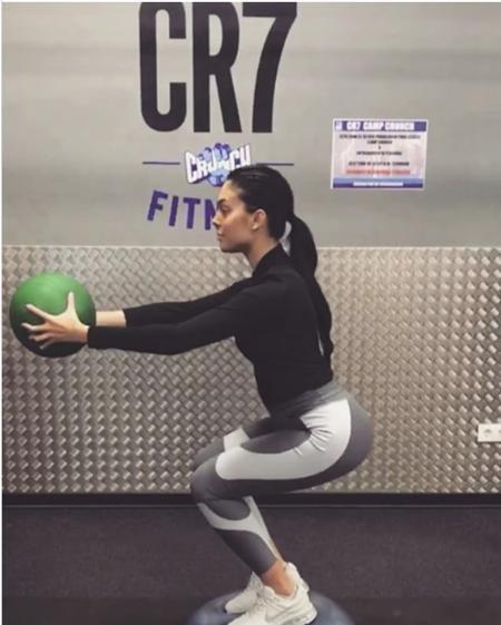 Georgina Rodiguez vui vẻ khoe hình tập luyện chăm chỉ