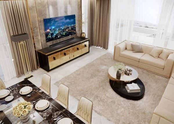 Từng món đồ nội thất trong phòng phải được chọn lựa kĩ càng, thật sự cao cấp, trang nhã và hài hòa với nhau