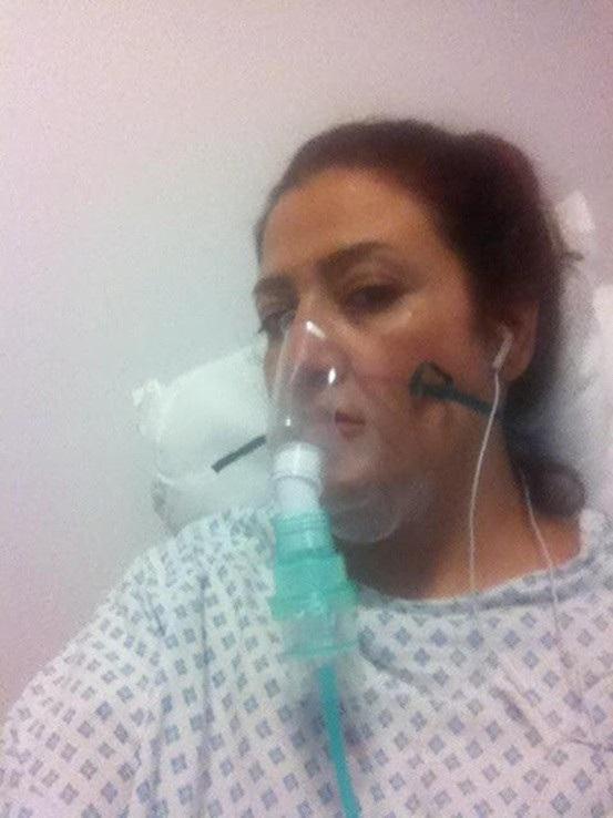 Vốn làm việc trong lĩnh vực làm đẹp, bị cắt bỏ ngực là một điều khó chấp nhận với Maryam