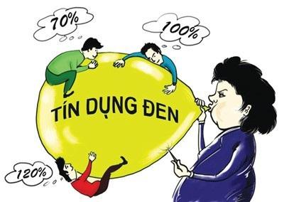Tín dụng đen và những lời mời chào hấp dẫn (nguồn ảnh: báo Người Lao Động)