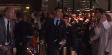 Dàn cầu thủ Real Madrid đã đến UAE