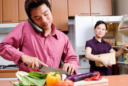 Người chồng không bao giờ dám coi thường một người vợ tự chủ về kinh tế. Ảnh minh họa