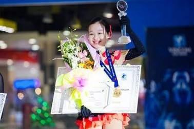 Một thí sinh nhí từng đoạt giải tại Cúp Vincom 2016 và giải thưởng tại cuộc thi quốc tế Skate Asia.