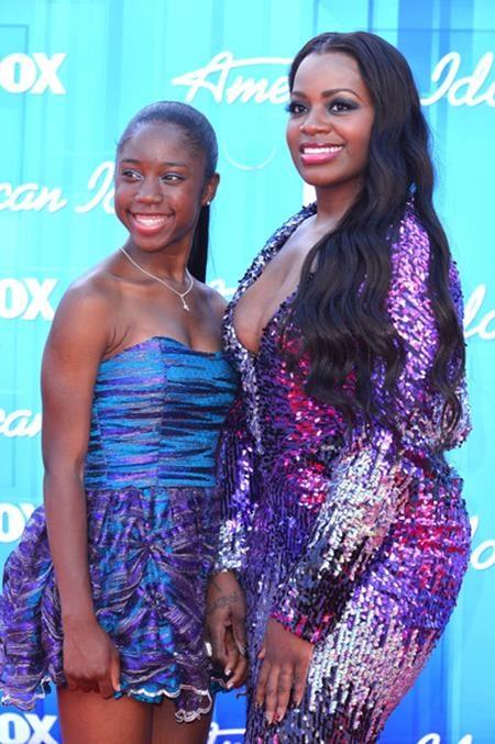 """Trước khi """"nổi đình nổi đám"""" nhờ chương trình American Idol, Fantasia Barrino sớm đã là một bà mẹ trẻ đảm đang khi sinh hạ cô con gái đầu lòng Zion Quari ở tuổi 17"""