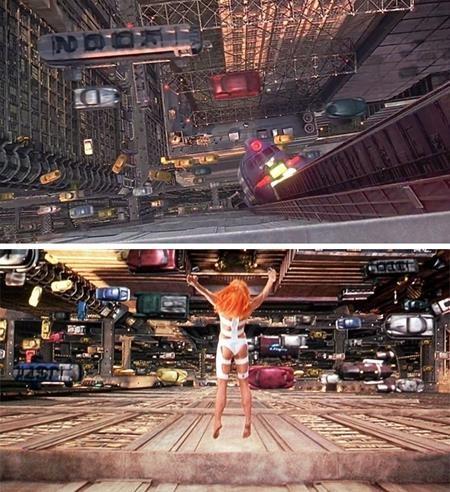 """Có gì đó rất sai trong phân đoạn Leeloo của bộ phim """"The fifth element"""" nhảy lầu"""