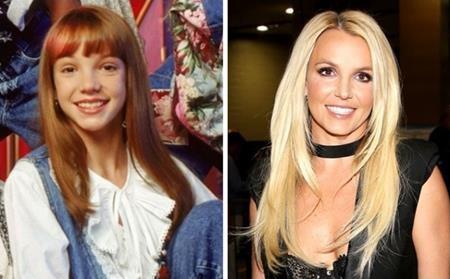Britney Spears xứng danh là cựu công chúa nhà Disney với vẻ ngoài xinh xắn, đáng yêu ngày bé