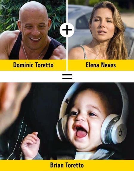 """Trong """"The Fate of the Furious"""" (2017), Dominic Toretto (Vin Diesel đóng) đã gặp phải không ít rắc rối vì cậu con trai Brian nhưng phút đoàn tụ ở đoạn kết phim đã cho thấy không có điều gì đáng giá hơn là hạnh phúc gia đình"""