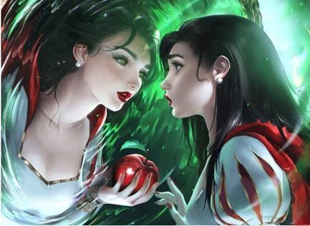 Nếu không có tấm gương thần kì và trái táo độc, liệu có ai nhận ra đây chính là công chúa Bạch Tuyết bước ra từ truyện cổ tích?