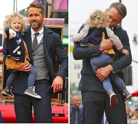 Chuyện Ryan Reynolds yêu thương, cưng nựng hết mực cô con gái rượu của mình vốn không phải là một ngạc nhiên đối với người hâm mộ.