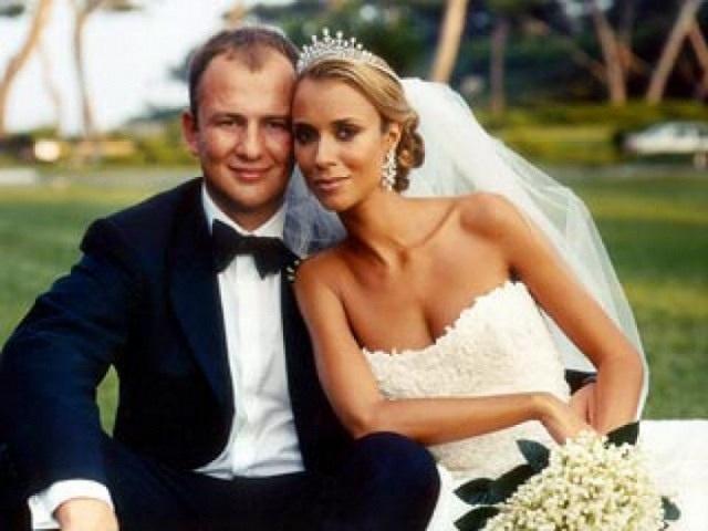 Tỉ phú Andrey và vợ được xem là cặp trời sinh của giới nhà giàu Nga.