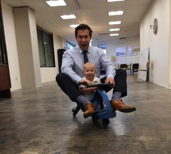 Những ông bố biến việc trông con trở thành công việc tuyệt vời nhất thế giới - 11