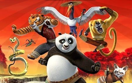 """Bộ phim """"Kung Fu Panda"""" nổi tiếng cũng có một phiên bản Brazil mang tên """"The little Panda fighter"""""""