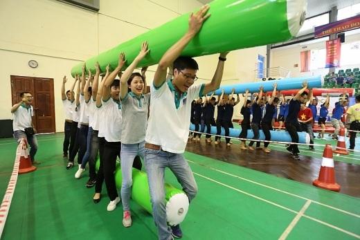 Các đội thi Gameshow phần Chung sức chung lòng