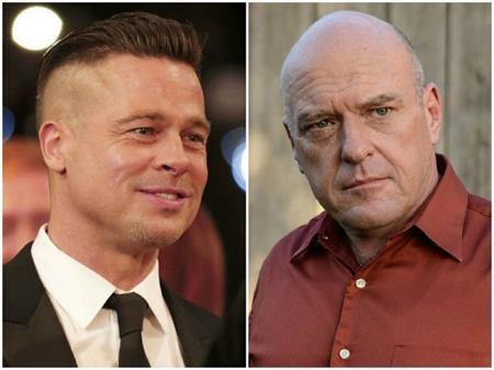 Nếu chỉ xét về diện mạo, chắc chắn không một ai dám tin Brad Pitt có cùng tuổi tác với Dean Norris