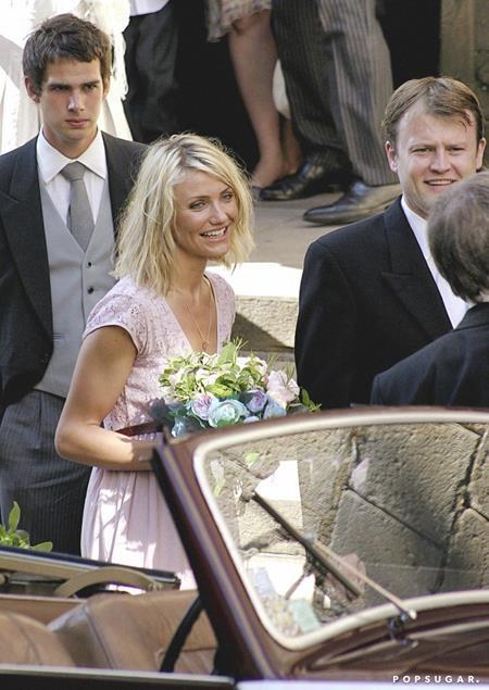 Cameron Diaz đã đặc biệt bay sang Pháp để làm phù dâu cho bạn thân hồi năm 2006