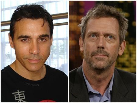 """Cùng sinh năm 1959 nhưng Hugh Laurie quả thực trông """"dừ"""" hơn hẳn Adrian Paul"""